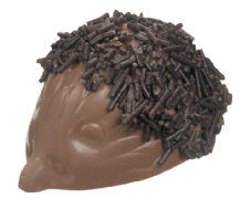 Belgian Milk Chocolate Hedgehog